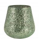 Glass wind light Namika, H10cm, green